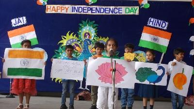 Essence Of Patriotic Fervour (Nursery To Class II)