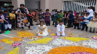 Onam Celebration (Nursery To Class II)