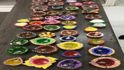 Class Decoration For Diwali (2019-20)