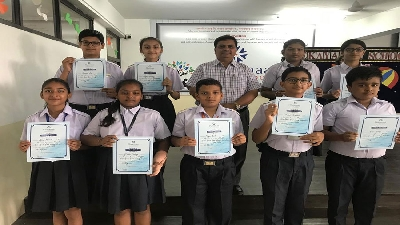 Winners Of Inter House Competition (Session 2019-20)