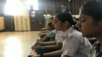 Yoga Day (Session 2019-20)